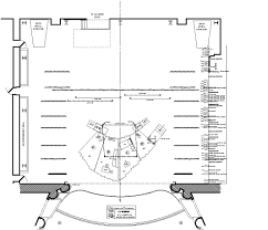 theater floor plan scenic design