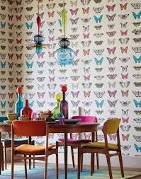 Wallpaper For Walls Teal And Pink Bon Appétit Wallpapers For Dining Areas Tasteful Stylish And