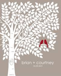 tree signing for wedding items similar to guest book tree guestbook tree personalized