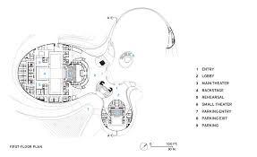 opera house floor plan harbin opera house 2015 12 01 architectural record