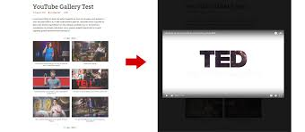 youtube layout not loading embed a responsive youtube playlist and channel gallery with our