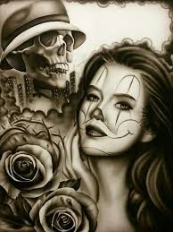 865 best chicano art images on pinterest drawings angel and death