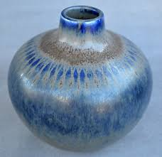 Eva Vase Saxbo Pottery Vase Eva Staehr Nielsen Danish Midcentury 도자기