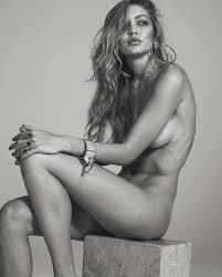 valerie van der graaf naked gigi hadid goes naked for vogue paris my face hunter