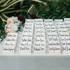 wedding seating chart ideas card and seating chart display ideas brides