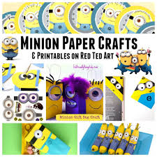 minion gift wrap 37 minion paper crafts despicable me printables ted s