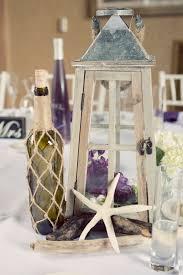 white lanterns for wedding centerpieces nautical wedding centerpieces