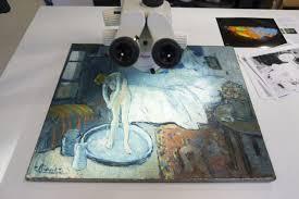 la chambre bleue picasso un mystérieux portrait découvert sous la chambre bleue de picasso arts