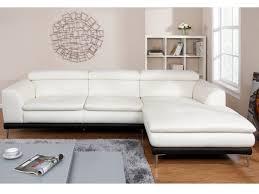 canapé angle cuir blanc canapé d angle cuir lucina blanc base angle droit deco