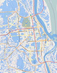 University Of Chicago Map by Phnom Penh Flash Flood Map City Of Water