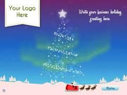 christmas ecards for business aurora christmas tree by ecards2go