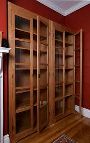 Mission Bookshelves by Bookcases With Glass Doors View Full Size Built In Bookcases