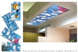 decorative fluorescent light panels homemade fluorescent light covers acrylic panels replacement home