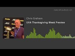 Uva Thanksgiving Uva Thanksgiving Week Preview