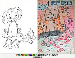 16 brilliantly corrupted colouring books ruin childhood