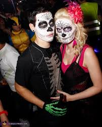 day of dead costume couples day of the dead costume