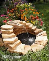 how to build a backyard fountain u0026 pond do it yourself fun ideas