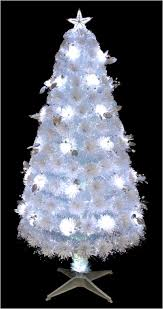 how many feet of christmas lights for 7 foot tree 7 feet 210 cm white fiber optic christmas tree with silver leaves