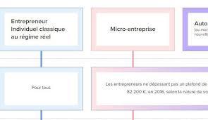 nature et d ouverte si e social tableau comparatif micro entreprise auto entrepreneur entreprise