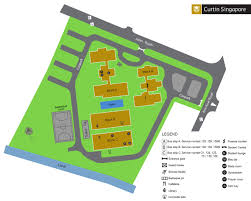 Student Map Login Campus Map And Area Map Curtin Singapore