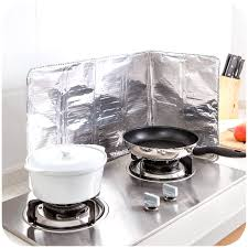 stove splash guard kitchen oil splatter guard gas stove splash guard nonstick cooker