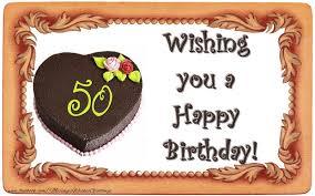 50 years happy birthday cake messageswishesgreetings com
