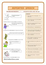 reported speech reported speech pinterest student centered