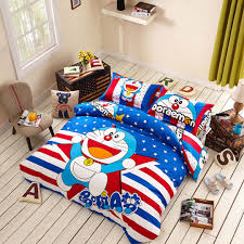 doraemon bedding set twin u0026 queen size queen size bedding sets