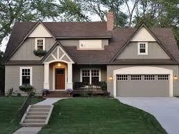 home design exterior color schemes exterior paint color combinations with brick portia day