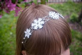 frozen headband how to make a frozen inspired snowflake headband for your