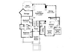 House Plans With Vaulted Great Room by Craftsman House Plans Kelseyville 30 476 Associated Designs