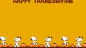 snoopy thanksgiving wallpaper hd wallpaper