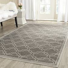Gray Indoor Outdoor Rug Safavieh Amherst Collection Amt412c Grey And Light