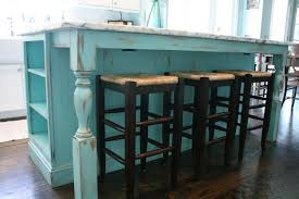 shabby chic kitchen island turquoise cabinets kitchen turquoise painted kitchen cabinets