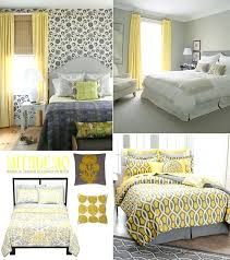 Gray And Yellow Bedroom Designs Yellow And Gray Bedroom Decorating Ideas See Notice The Effect Of