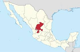 download map of mexico zacatecas major tourist attractions maps