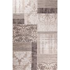 Concord Global Area Rugs Concord Global Trading Casa Collection Symphony Ivory 5 Ft 3 In