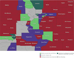 Colorado Counties Map Here U0027s What Colorado Has Decided On Amendment 64 Releaf