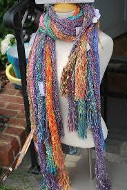 302 best ladder ribbon scarves images on pinterest crochet