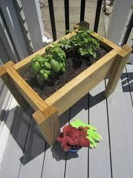 scrap wood planter box pretty handy