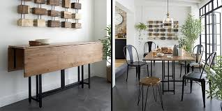 Drop Leaf Dining Table For Small Spaces 10 Space Saving Dining Tables For Your Tiny Apartment Space