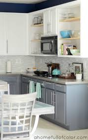 kitchen inspiration of two tone kitchen cabinets dreaded photo
