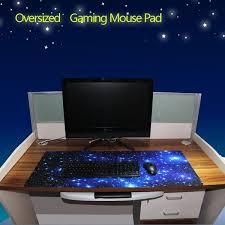 Gaming Desk Pad Wish Galaxy Anti Slip Laptop Computer Gaming Large Mouse Pad