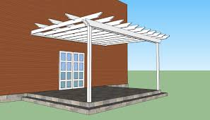 attached pergola plans free attached pergola plans and ideas