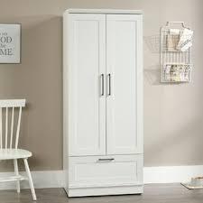 wardrobe storage cabinet white white armoires wardrobes you ll love wayfair
