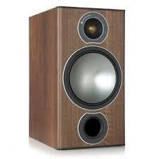 Bookshelf Speaker Shelves Monitor Audio Bronze 2 Walnut Pair Speakers Shelf Official