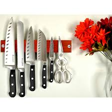 Red Kitchen Knives by Cutlery Costco