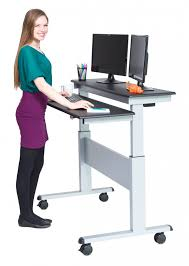 rolling stand up desk awesome stand up computer desk decorate artisticjeanius com
