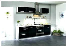 meuble cuisine laqué noir cuisine noir brillant cuisine laquee cuisine laque noir meuble