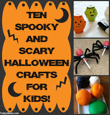 scarey halloween images todaysmama com ten spooky and scary halloween crafts for kids